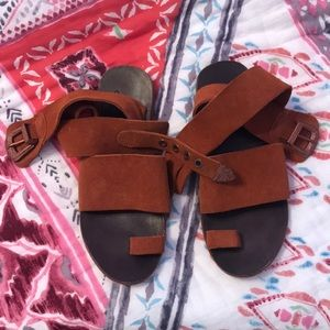 Free People Sandals Size 36